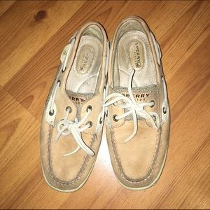 Sperry Top-Sider Shoes - FINAL PRICE tan leather sperrys
