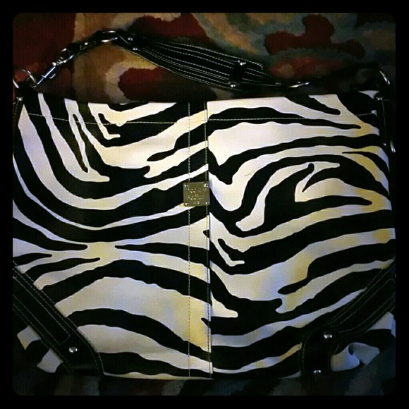 Zebra Print Shoulder Bag 115