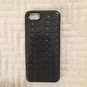 Orla Kiely Accessories - SALE!  Orla Kiely dark gray iPhone 5s case