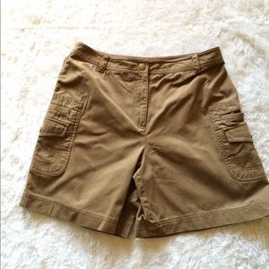 Rafaella light brown short