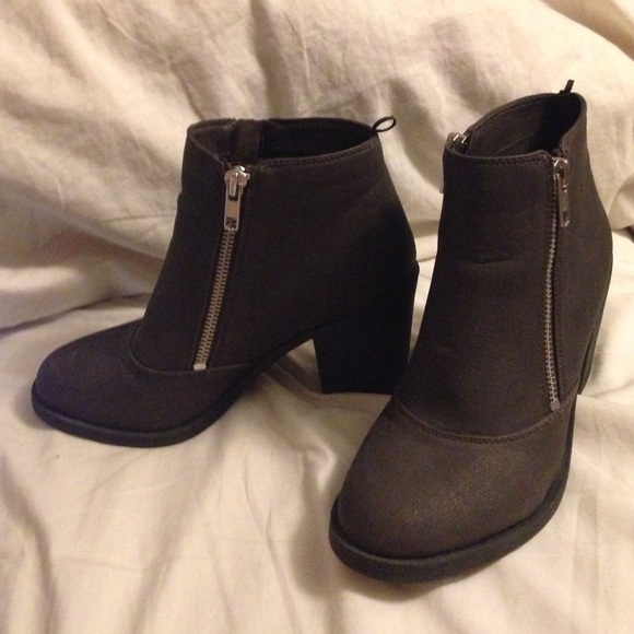 67 h m shoes heeled booties from kari s closet on