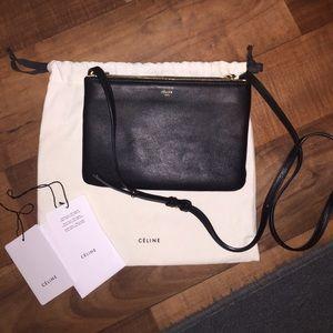 Celine Handbags - CELINE TRIO BLACK NEW *****