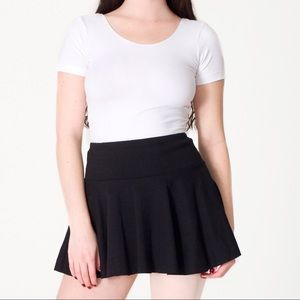 American Apparel Thick-Knit Jersey Skirt