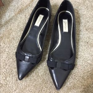 Zara pointed toe flat shoes