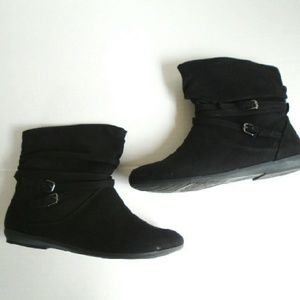 Lower East Side Shoes - Belted Ankle Boots