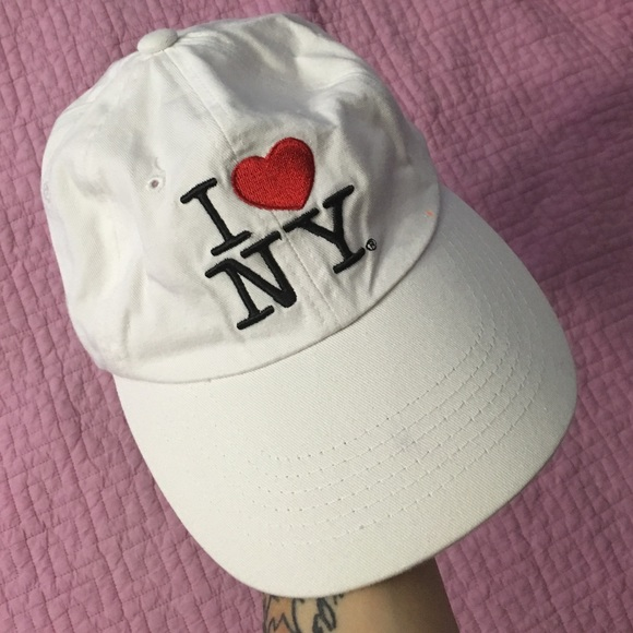 515b975d3e4 Adidas Accessories - 💸FINAL SALE💸 white I love New York baseball cap