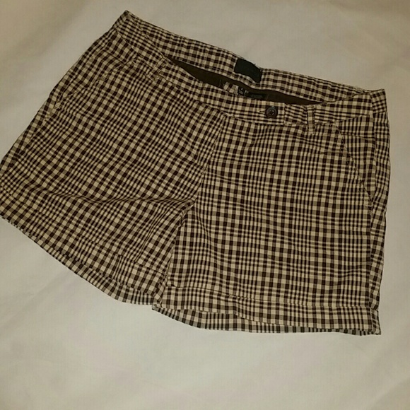 The Limited Pants - The Limited Plaid Shorts