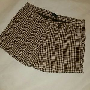 The Limited Plaid Shorts