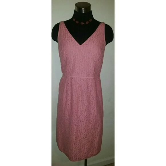 Ann Taylor Dresses & Skirts - Ann Taylor Vintage Pink Dress