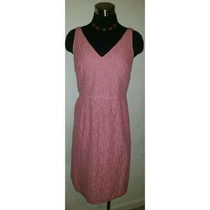 Ann Taylor Vintage Pink Dress