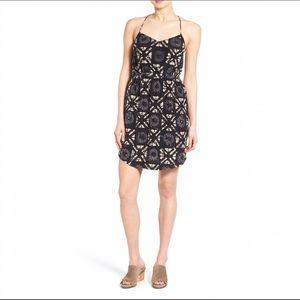  Madewell Star Black & White Print Cami Dress