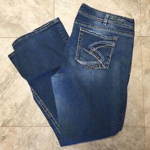 ⬇️ Silver Suki Jeans
