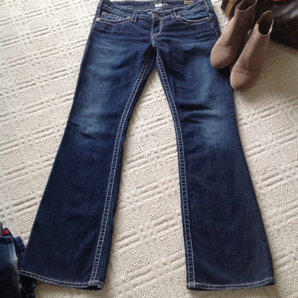 Silver Jeans - SILVER PIONEER BOOTCUT JEANS from Michele's closet ...