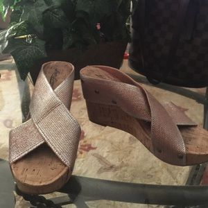 Lucky Brand wedges size 8 new
