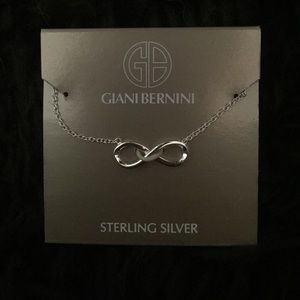 giani bernini sterling silver infinity necklace