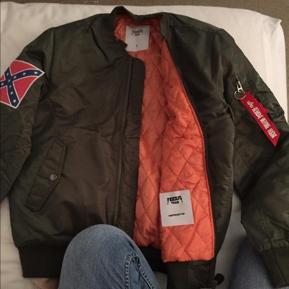 official photos fd579 cb3fb Yeezus tour bomber jacket. M 57472968f739bc6edf005389
