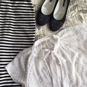 Abercrombie & Fitch Dresses & Skirts - Abercrombie and Fitch midi stripe pencil skirt