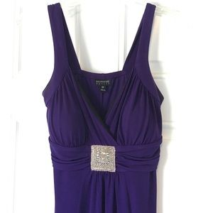 En Focus Dresses & Skirts - Pretty Knee-Length Purple Dress