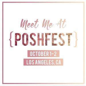 Meet me at PoshFest!