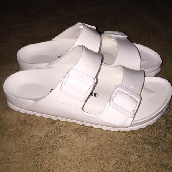 5b91978fb619 Birkenstock Shoes - Birkenstock Essentials Arizona Rubber Sandals 37