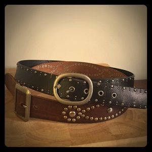 NOT FOR SALE....belts (by Fossil)