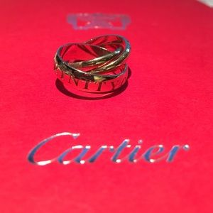 Cartier Jewelry - Cartier Trinity Rolling Ring collector HOST PIC