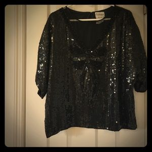 Stunning vintage sequin and beaded top.