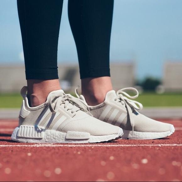 8900bbfeef20 Adidas NMD R1 Talc Sneakers