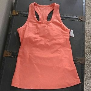BeMaternity Tops - Gorgeous coral maternity work out tank