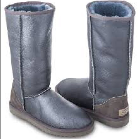 UGG Australia Classic Tall Metallic Boot