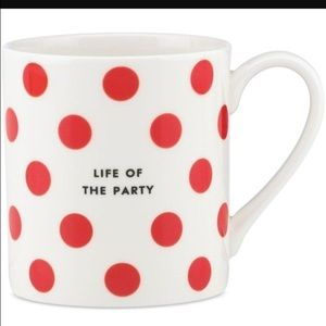 Kate spade mug life of the party