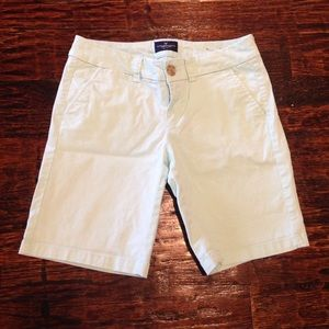 American Eagle Outfitters Pants - Light Blue Bermuda Shorts