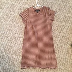 Urban Outfitters Stripped Shirt Dress