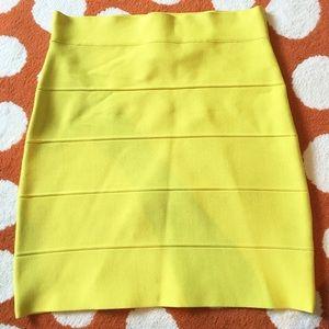 BCBG Simone bandage skirt