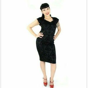 Damask Wiggle Dress