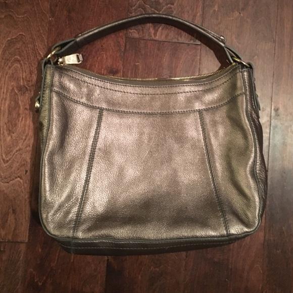 f8f43c6904 Cole Haan Handbags - Cole Haan metallic silver purse.