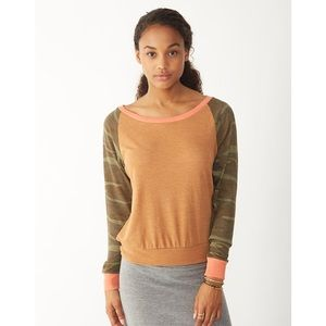 Alternative Apparel Slouchy Eco-Jersey Pullover S