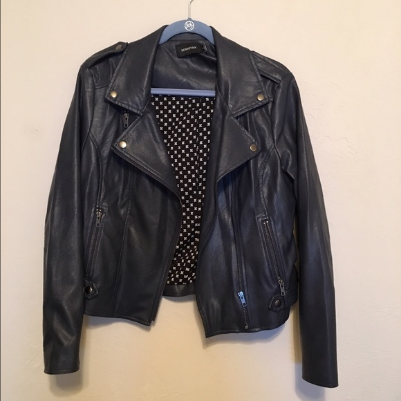 73% off MINKPINK Jackets & Blazers - MINKPINK Leather Jacket from ...