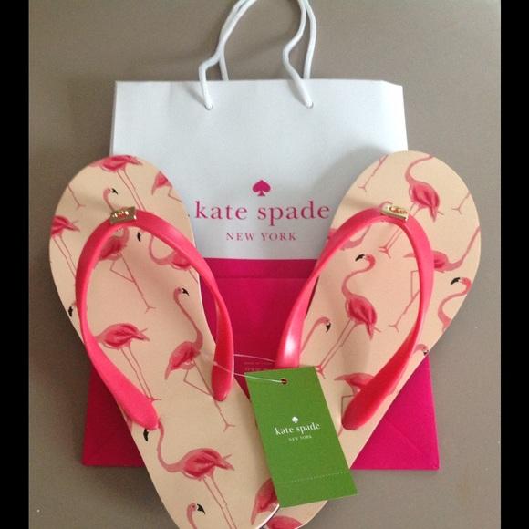 15cb5514c9eb Kate Spade flamingo flip flops🎉Host pick🎉