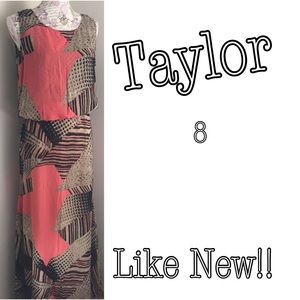 Taylor Dresses Dresses & Skirts - Taylor dresses abstract print popover long  maxi 8