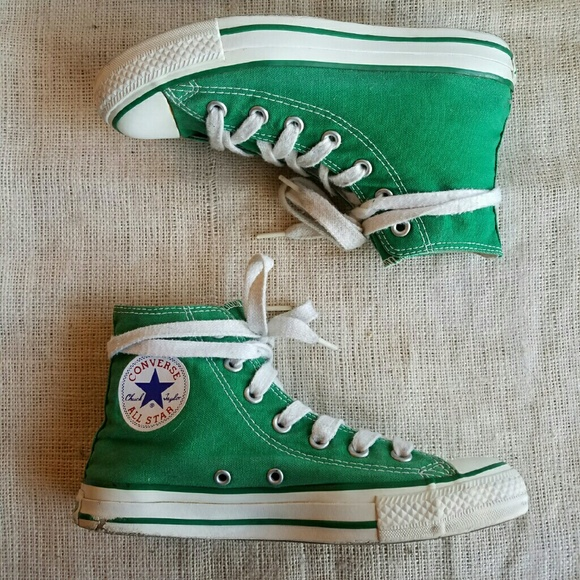 how long are converse high top laces