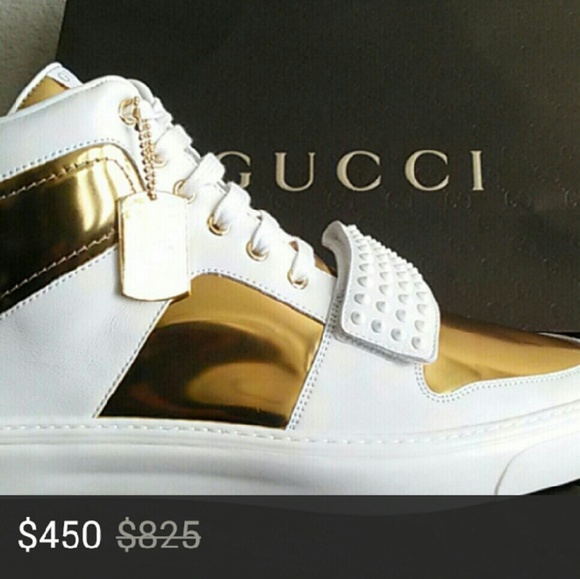 Gucci Shoes | Limited Edition Gold High