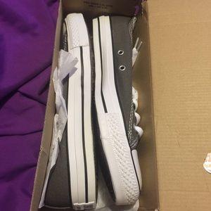 Converse Shoes - Charcoal Converses
