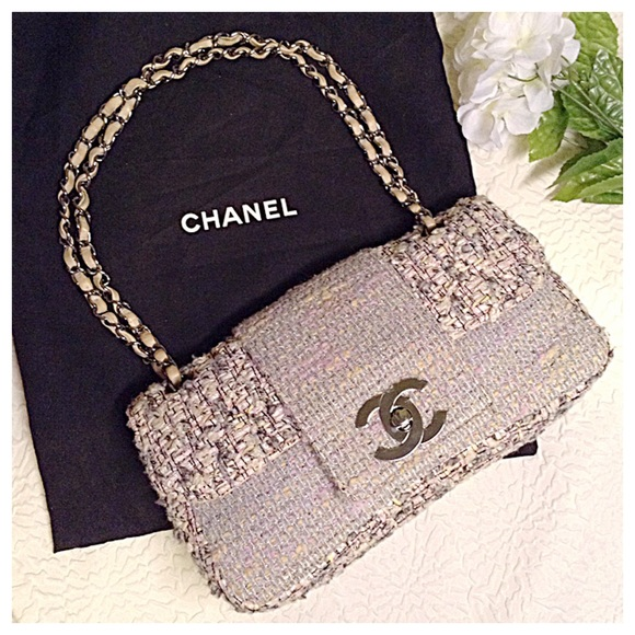 d77474e54712 CHANEL Handbags - RAEE CHANEL Fantasy Flap Pastel Tweed Bag