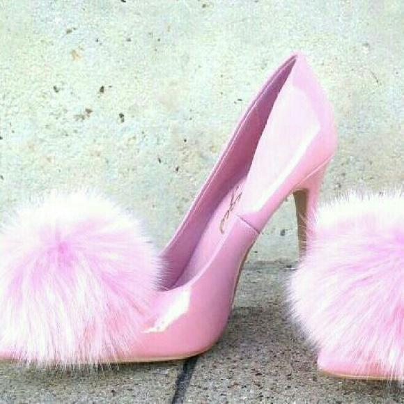 Iso Privelege Pink Pom Pom Heels