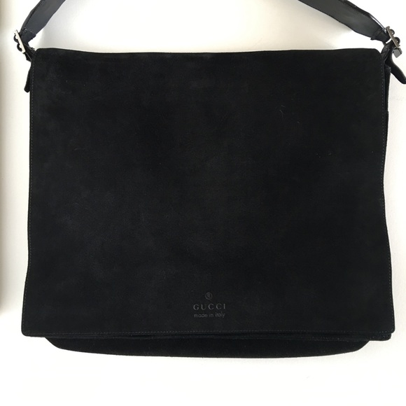 64% off Gucci Handbags - ❌SOLD❌ GUCCI Suede Messenger Bag from ...