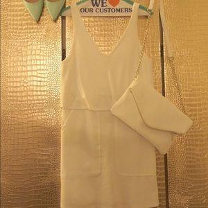 Flash Sale Super chic white dress from Zara