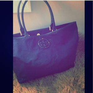 Tory Burch Navy Tote