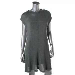 Zara Dresses & Skirts - NWT💠Zara Green Knit Open Stitch Sweaterdress