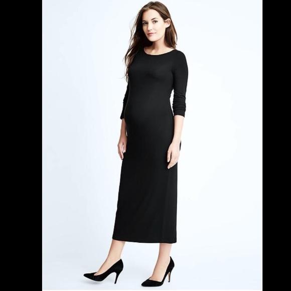 53bcbc9e74f GAP Dresses   Skirts - Gap maternity long sleeve dress maxi